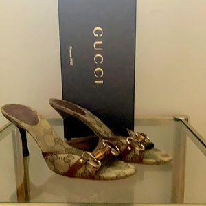 Gucci GG Slide 85mm heel